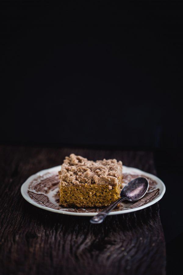Gluten free pumpkin coffee cake | Eat Good 4 Life