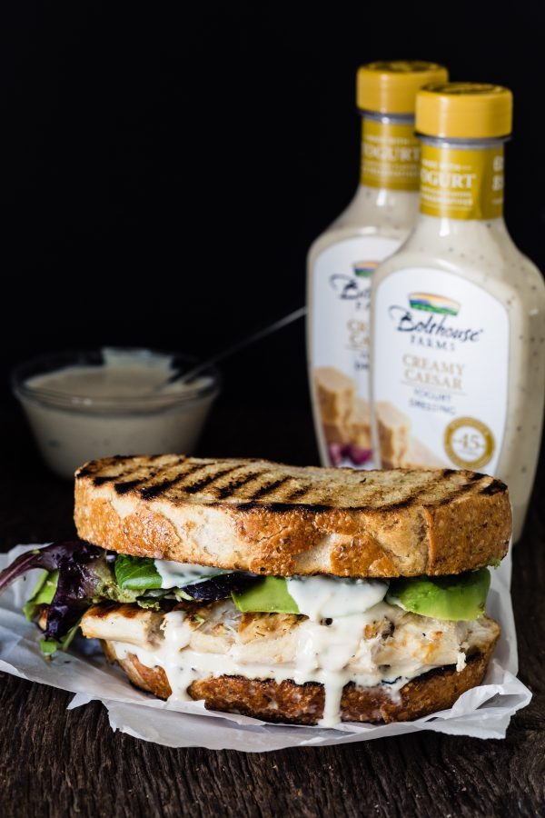 Chicken Caesar Sandwich | Eat Good 4 Life