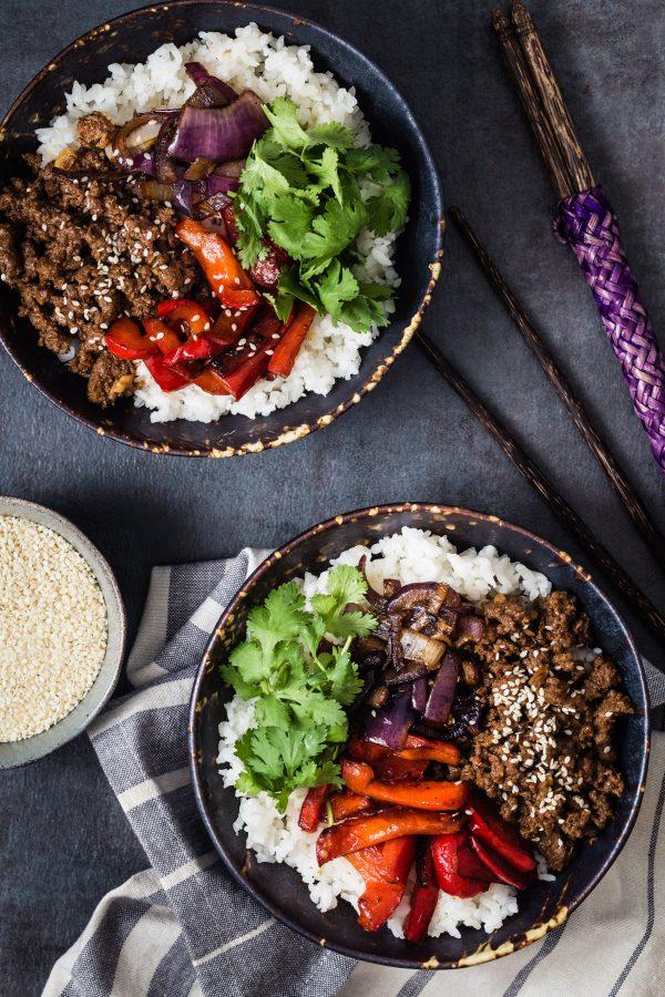 Asian rice dish