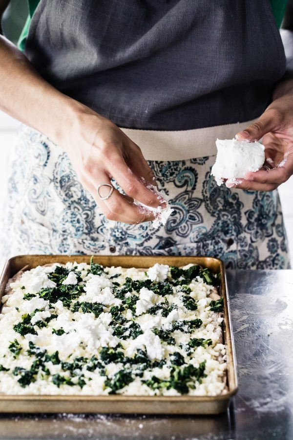 Whole wheat spinach goat cheese pizza   Eat Good 4 Life