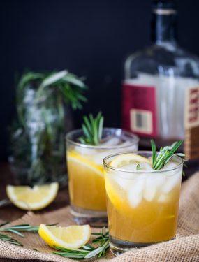 Rosemary bourbon sour | Eat Good 4 Life