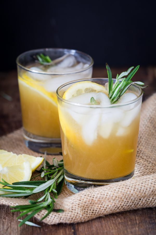 Rosemary bourbon sour | Eat Good 4 Life