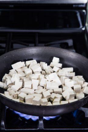 Caramelized tofu arugula salad with tahini dressing   Eat Good 4 Life