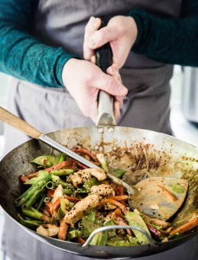 Peanut chicken stir-fry | Eat Good 4 Life