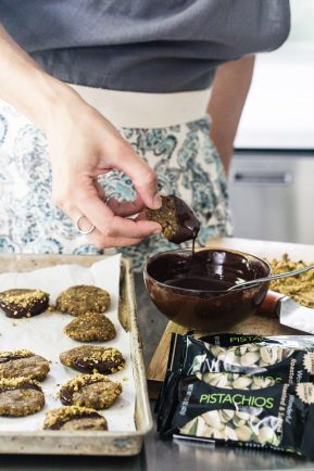 No bake pistachio cookies | Eat Good 4 Life