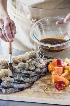 Grilled spicy orange shrimp | Eat Good 4 Life