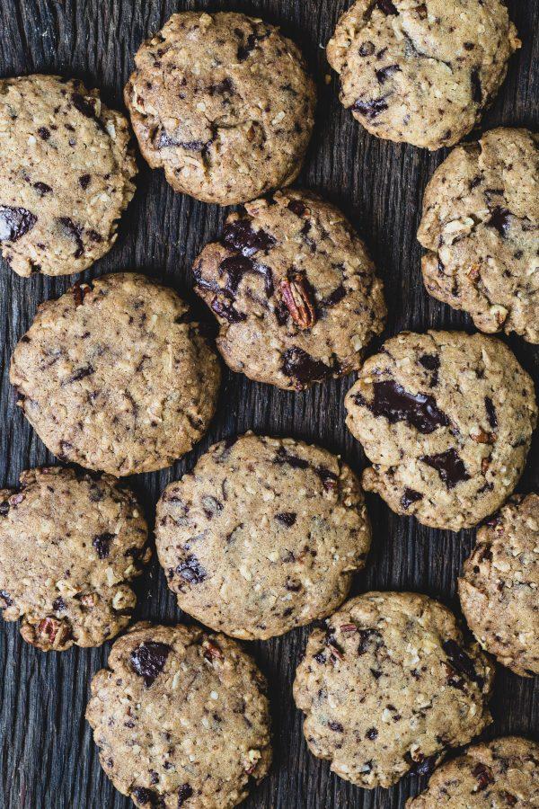 Whole wheat chocolate pecan coconut cookies   Eat Good 4 Life