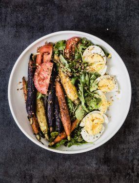 Carrot quinoa arugula salad | Eat Good 4 Life