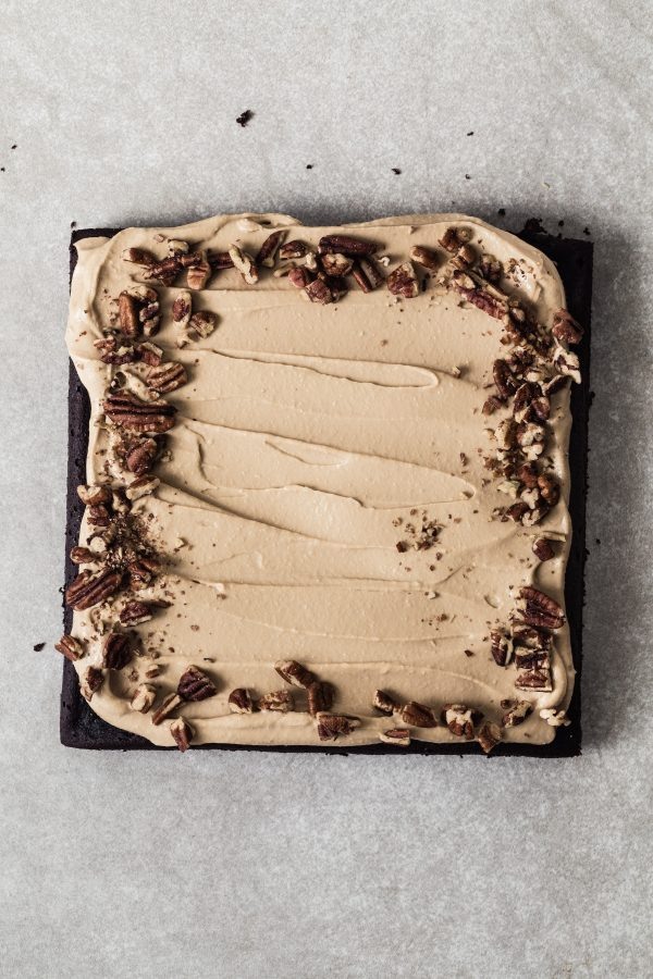 Black bean cake with coffee frosting | Eat Good 4 Life