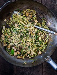 Asian zucchini noodles | Eat Good 4 Life