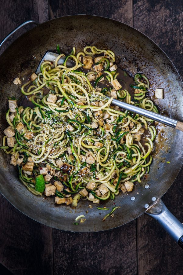 Asian zucchini noodles | Eat Good 4 Life