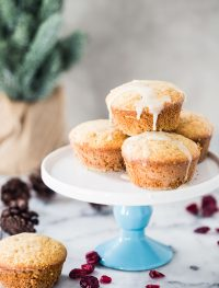 Orange cranberry muffins | Eat Good 4 Life