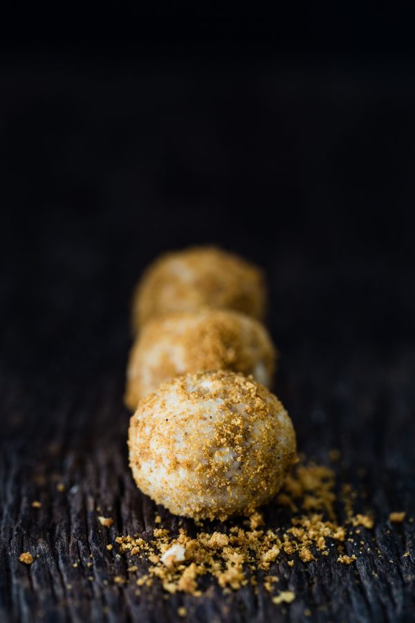 Gingerbread white chocolate truffles   Eat Good 4 Life