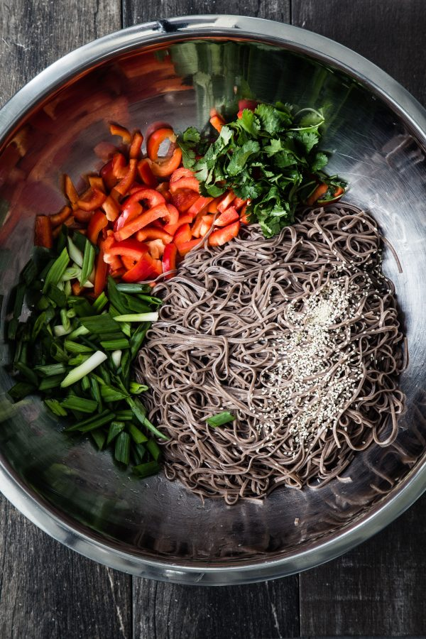 15 minutes soba noodle salad | Eat Good 4 Life