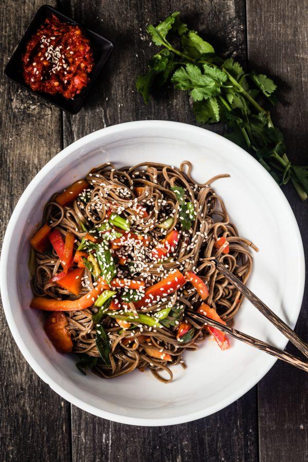 15 minutes soba noodle salad   Eat Good 4 Life