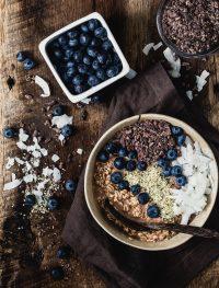 Chocolate peanut butter overnight oats | Eat Good 4 Life