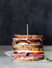 Pastramy watercress tomato sandwich | Eat Good 4 Life