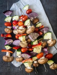 Grilled vegetable skewers | Eat Good 4 Life