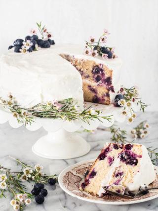Gluten free lemon blueberry cake   Eat Good 4 Life
