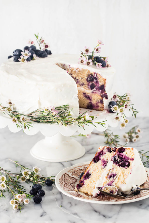 Gluten free lemon blueberry cake | Eat Good 4 Life