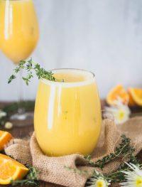 eat good 4 life   Orange thyme mimosa