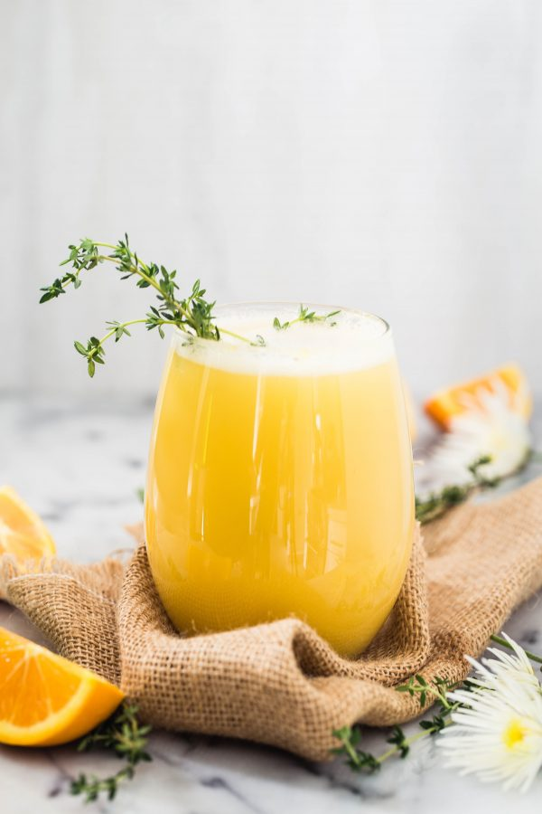 eat good 4 life | Orange thyme mimosa