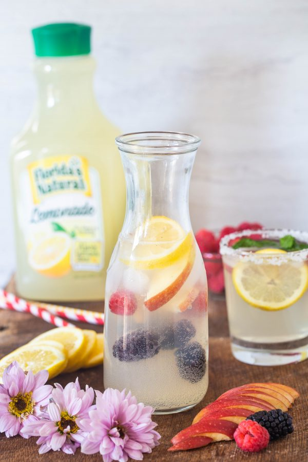 Lemonade sangria | Eat Good 4 Life
