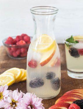 Lemonade sangria | Eat Good 4 Life