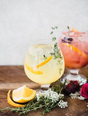 Gin and tonic 3 ways | Eat Good 4 Life