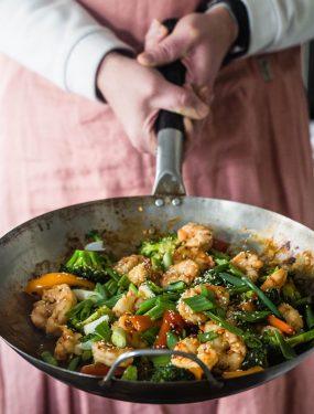 orange garlic shrimp | Eat Good 4 Life