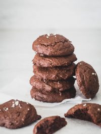 gluten free chocolate orange truffle cookies| Eat Good 4 Life