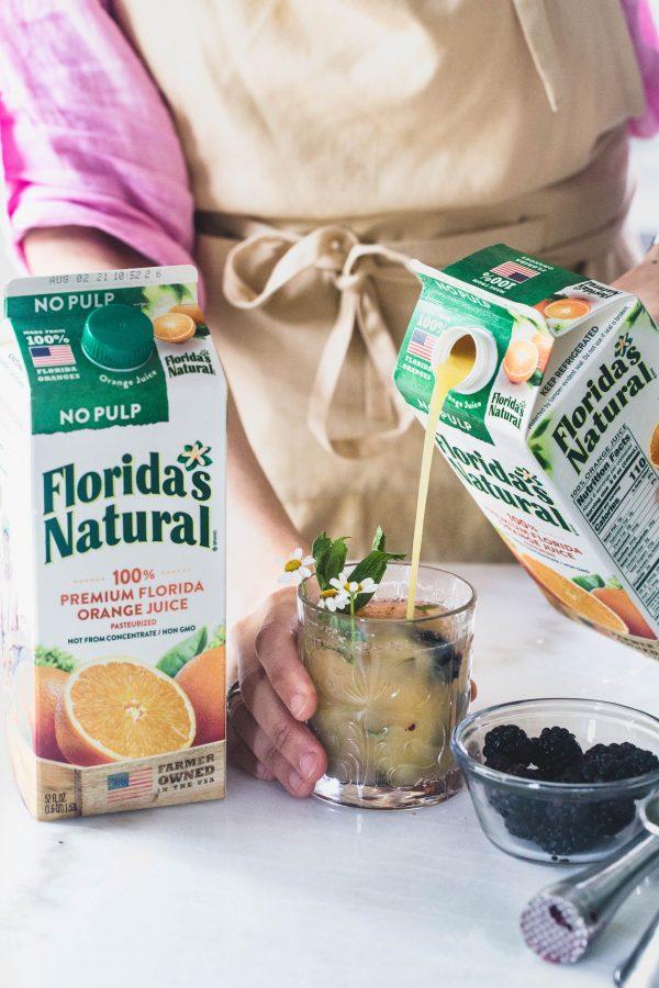Orange Mule 3 ways | Eat Good 4 Life