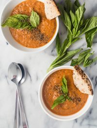 tomato basil bisque | Eat good 4 Life